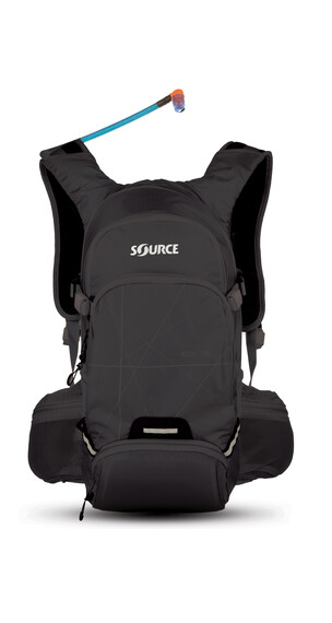 SOURCE Ride reppu 15 L , musta
